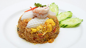 Spicy Seafood Fried rice ¥1,300