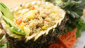 Fried rice in Pineapple ¥1,800